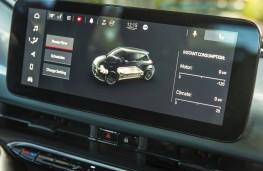Fiat 500, 2020, display screen, power flow