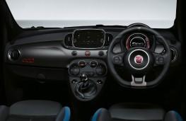 Fiat 500S, 2017, dashboard