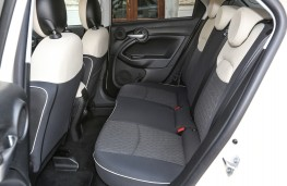 Fiat 500X City Cross, 2018, rear seats