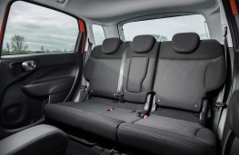 Fiat 500L Cross, 2017, rear seats