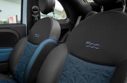 Fiat 500 hybrid, 2020, Seaqual seats
