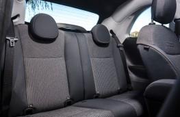 Fiat 500, 2020, rear seats