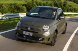 Fiat 500S, front
