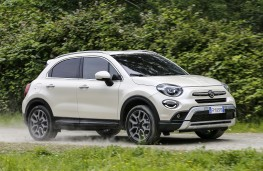 Fiat 500X City Cross, 2018, side
