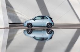 Fiat 500 hybrid, 2020, side