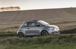 Fiat 500, 2020, side