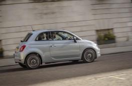 Fiat 500, 2020, hybrid, side