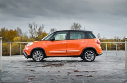 Fiat 500L Cross, 2017, side, static