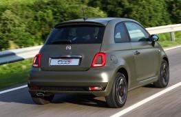 Fiat 500S, rear