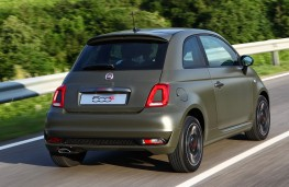 Fiat 500S, 2017, rear, action