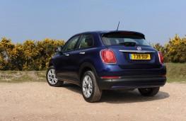 Fiat 500X, rear, static