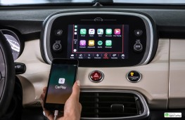 Fiat 500X, 2018, display screen