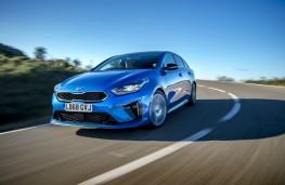 Kia ProCeed, front dynamic