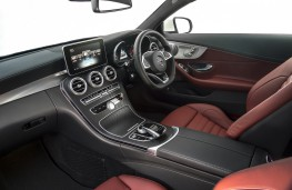 Mercedes-Benz C-Class Coupe, interior