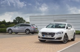 Peugeot 508 saloon and estate, 2014