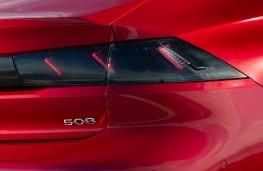 Peugeot 508, 2018, badge