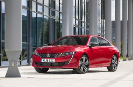 Peugeot 508, 2018, front, static