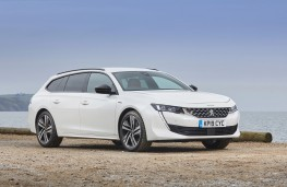 Peugeot 508 SW, 2019, front, static