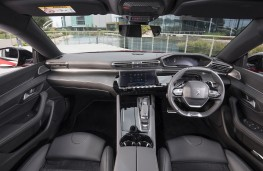Peugeot 508, 2018, interior