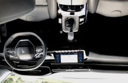 Peugeot 508, 2018, interior, manual
