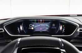 Peugeot 508, 2018, instrument panel, sat nav