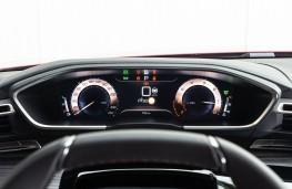 Peugeot 508, 2018, instrument panel, dials