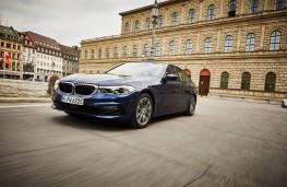 BMW 530e, 2019, front
