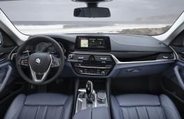 BMW 530e, 2017, interior