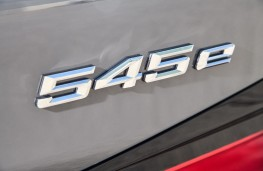 BMW 545e, 2020, badge