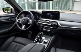 BMW 545e, 2020, interior