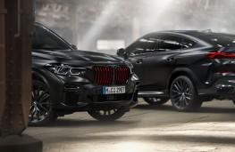 BMW X5 and X6 Black Vermillion Edition, 2021, pair