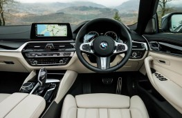 BMW 5 Series, 2017, dashboard