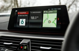 BMW 5 Series, 2017, display screen