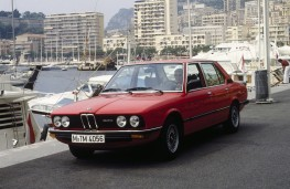 BMW 5 Series, 1973, front