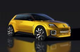 Renault 5, 2021, front