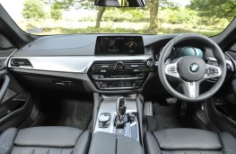 BMW 5 Series Touring, 2017, interior