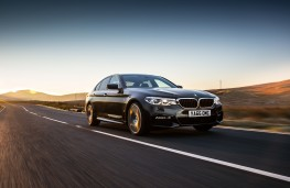 BMW 530d xDrive M Sport, 2017, front, action