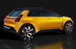 Renault 5, 2021, rear