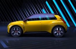 Renault 5, 2021, side