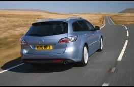 Mazda6, rear