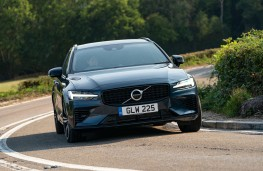 Volvo V60 Recharge, 2021, front, action