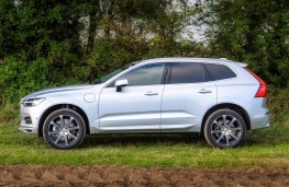 Volvo XC60 Recharge, 2021, side