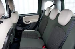Fiat Panda 4x4, interior rear