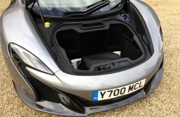 McLaren 650S Coupe, boot