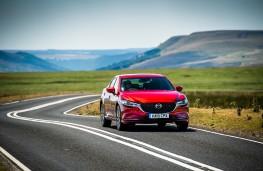 Mazda6 GT Sport Nav+, 2019, front, action