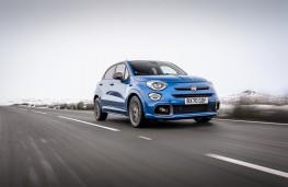 Fiat 500X Sport, 2021, front, action