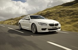 BMW 6 Series Coupe, front