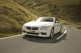 BMW 6 Series Coupe, front, action