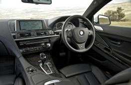 BMW 6 Series Coupe, interior