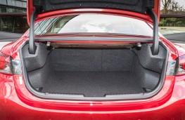 Mazda6 saloon, boot